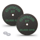 """2.5"""" Resin Cut-Off Wheels for Rotary Tools; 2 Double Fiberglass Reinforced Cutting Discs; Super-Tensile Materials like Titanium, Carbon; Dremel Cutting Tool Accessory; Made in USA 11-42502"""