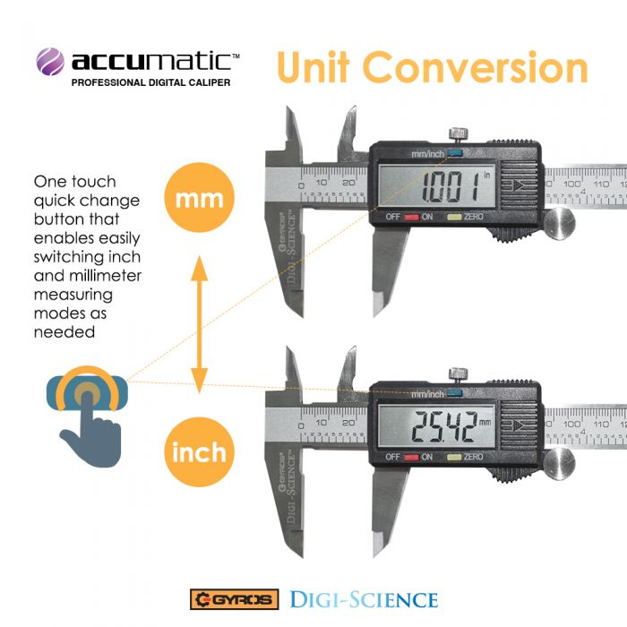 """Digital Caliper Stainless Steel Electronic LCD Micrometer Measuring 0-6/""""//150mm"""